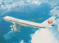 JAL JAPAN AIR LINES - BOEING 747-LR - JA8112 - CARTE POSTALE - POSTCARD