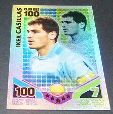 IKER CASILLAS ESPAÑA CLUB 100 TOPPS MATCH ATTAX TRADING CARD GAME FOOTBALL 2010