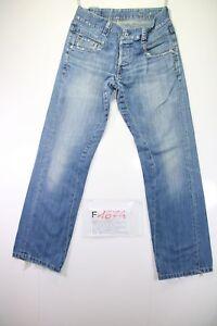 G-Star Regular Fit (Cod. F1674) Tg46 W32 L32 jeans usato Vita Alta vintage