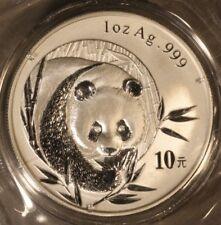 2003 China Panda 1 oz .999f Silver Round & Sealed    ** Free U.S. Shipping **
