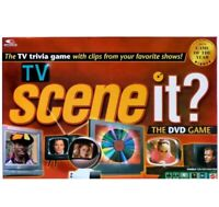 Scene it? TV trivia game DVD Family/Friends board game! - Factory Sealed New