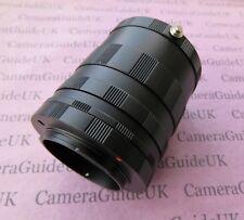 Macro Extension Tube For Micro 4/3 Olympus Camera OM-D E-M5 II,E-M5,E-M1,E-PM1