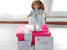 Marie Osmond Clara Tiny Tots Doll COA + Doll Necklace + Stand