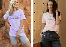 Defect!! Lorna Jane Iconic Tee Shirt Womens S/Sleeve T-Shirt Crew Tops SZ XXS-L