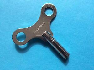 Uhrenschlüssel Wanduhr Nr. 7 Vierkant 4,00  Schlüssel Aufziehschlüssel Regulator