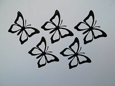 10 x Butterflies Car Side Mirror Wing Mirror Vinyl Decal Stickers Van Butterfly