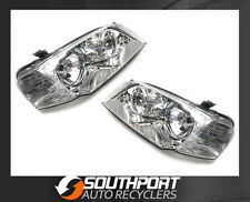 FORD TERRITORY HEADLIGHTS CHROME SX SY 2004-2009 *NEW PAIR*