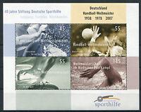 Bund Block 70 postfrisch BRD 40 Jahre Deutsche Sporthilfe Sport Olympiade MNH