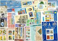 Samoa 20 Different Stamp Miniature Sheets All Mint Unhinged (#6B)
