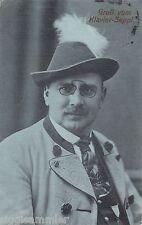 Gruss vom Klavier-Seppl AK 1911 Musik Freaks Zirkus Varieté 1607145