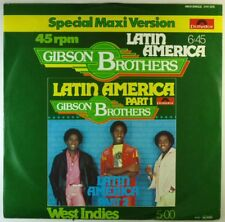 """12"""" Maxi-GIBSON BROTHERS-LATIN AMERICA/WEST INDIES-l8212-Cleaned"""