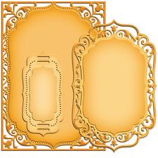Spellbinders Nestabilities Die ~ 5x7 ELEGANT LABELS 4 ~ S6-005 ~ Card Creators