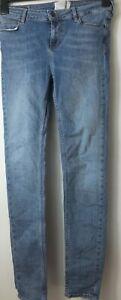 Woman's FatFace Harlow Super Skinny Denim Jeans Size UK 10R