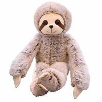 50/70cm Plush Cuddly Sloth Soft Toy Teddy Furry Animal Monkey Cute Doll Kid Gift