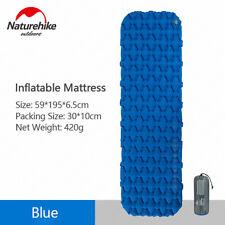 Naturehike Ultralight Inflatable Mattress +Bag Camping Tent Sleeping Pad Air Mat