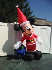 MICKEY MOUSE CHRISTMAS BAG & PRESENT YARD AIRBLOWN INFLATABLE