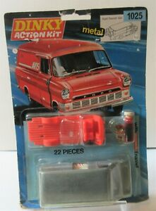 Rare Dinky Toys Ford Transit Van 'Avis Truck Rental' Action Metal Kit Model