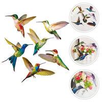 6Pcs Hummingbird Window Clings Window Decor Decals for Home Decor