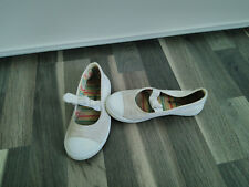 Ballerines toile blanches t.28