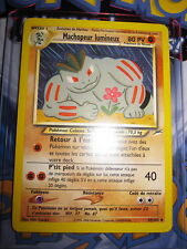 POKEMON (◕‿◕✿) MACHOPEUR LUMINEUX 49/105 NEO DESTINY FR MINT UNCO ED ILLIMITE