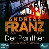 DER PANTHER-JULIA DURANTS NEWER FALL - FISCHER,JULIA  2 MP3 CD NEW