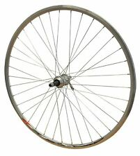 700c REAR Road Racer Bicycle Mach CFX Rim Joytech Screw on Hub Wheel Silver