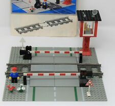 Lego - 4539 - Manual Level Crossing - Train: 9V & Instructions