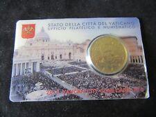 Coincard 50 Cent  Vatican 2015