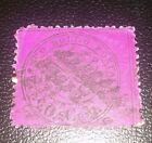 ANTICHI STATI Stato Pontificio 20 cent 1868 n.28k decalco