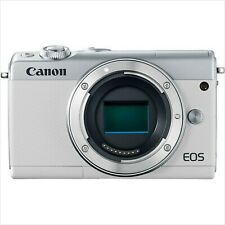 CANON EOS M100 Mirrorless Digital Camera (Body Only) WHITE NEW