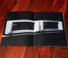 Spectral DMA 360 Broschüre High End Mono Endstufe Audio Vintage selten