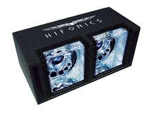 """Hifonics BRUTUS BX 12 DUAL *UVP 499,- 1600 Watt DoppelBandpass 2 x 30 cm/12"""" ."""