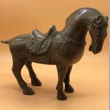 Wonderful Ancient Greek Bronze Horse Statue Circa 300-50 Bc