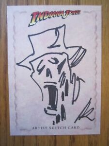 Indiana Jones Heritage Art Sketch card