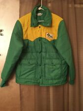 Vintage Rupp Seeds Puffer Jacket Corn Farming Agriculture Rare