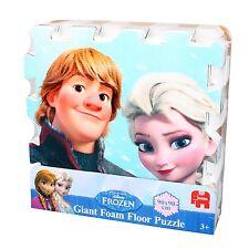 Jumbo 17428 Disney FROZEN Eiskönigin Foam Puzzlematte Soft Boden Puzzle 90x90cm
