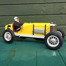 Tether Car Gilbow Miller Indy Race Car Clockwork può convertire al motore a gas modello