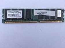 BARRETTE MEMOIRE TRANSCEND 1 GO DDR 400 OCCASION GARANTIE (6032)