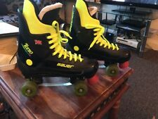 bauer turbo roller skates unisex size 10 rip roller 85 wheels VGC