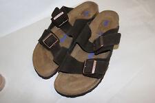 518 Women's Birkenstock Suede Arizona Soft Footbed Sandal Sz EU 41 (US 10/10.5)