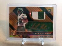 2020 Panini Gold Standard La'Mical Perine RPA /22 NY Jets 2 Color Patch