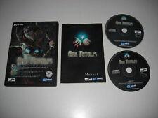 ARX FATALIS Pc Cd Rom RARE RPG FAST POST