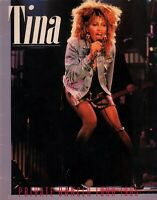 TINA TURNER 1985 PRIVATE DANCER WORLD TOUR CONCERT PROGRAM BOOK BOOKLET VG 2 EX