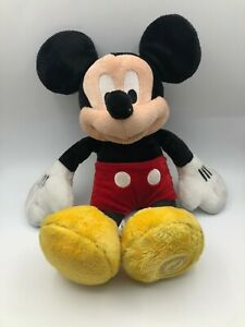 Disney Store Stamped Mickey Mouse And Friends Plush Kids Soft Stuffed Toy Animal