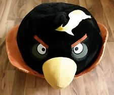 HUGE/GIANT Black Bomb Angry Bird Space Stuffed Animal Soft Plush Toy 2 FEET LONG