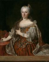 """oil painting on canvas """"Maria Anna of Austria Queen of Portugal """"@N13310"""