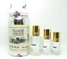 Rooh al Musk Conc Perfume Oil Attar by Surrati perfumes 3ml,6ml,12ml ,36ml