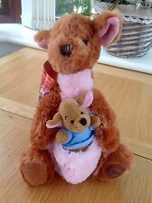 DISNEY STORE EXCLUSIVE KANGA & ROO FROM WINNIE THE POOH PLUSH TOY COMFORTER -TAG