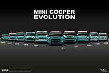 ART POSTER A2 size The Italian Job Austin Mini Cooper S Mk1