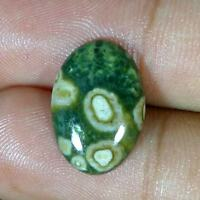 Best Offer 100% Natural Brilliant Ocean Jasper Oval Cabochon Loose Gemstones
